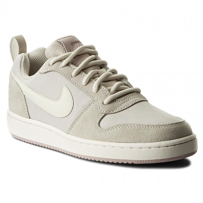 Shoes NIKE , Court Borough Low Prem 861533 101 Lt Orewood Brn/Sail,Silt Red