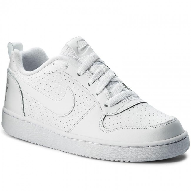 Shoes NIKE , Court Borough Low (GS) 839985 100 White/White/White