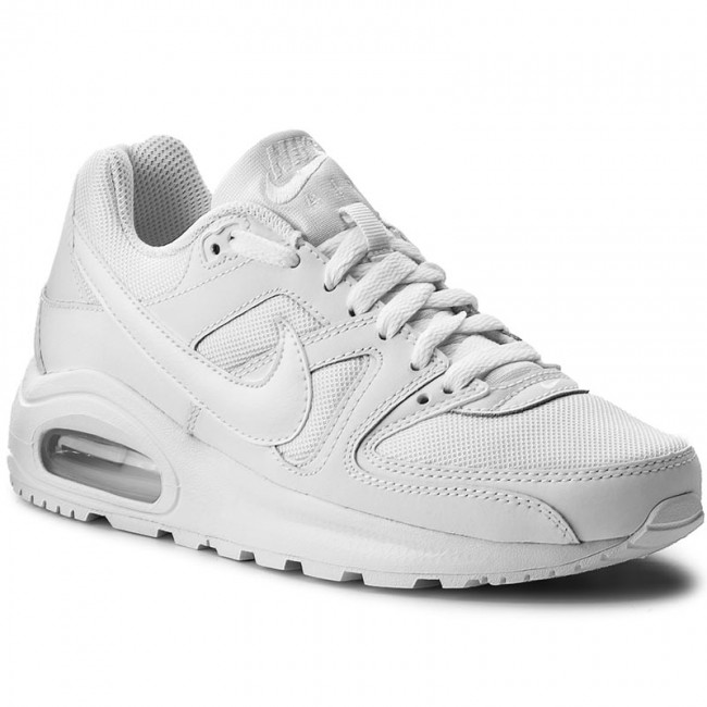 Al aire libre infierno claramente  Shoes NIKE - Air Max Command Flex (GS) 844346 101 White/White/White -  Sneakers - Low shoes - Women's shoes | efootwear.eu