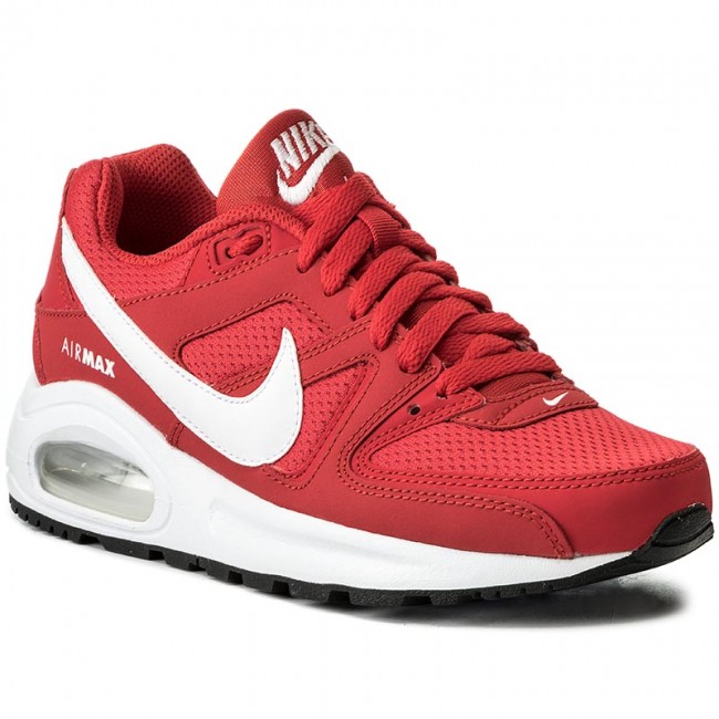 Shoes NIKE Air Max Command Flex (GS) 844346 600 University RedWhiteBlack
