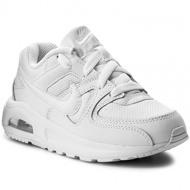 Shoes NIKE Air Max Command Flex (PS) 844347 101 WhiteWhiteWhite