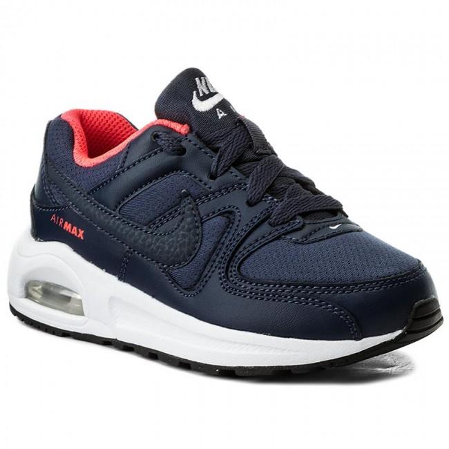 Shoes NIKE Air Max Command Flex (PS) 844350 400 Thunder BlueWhiteBlack