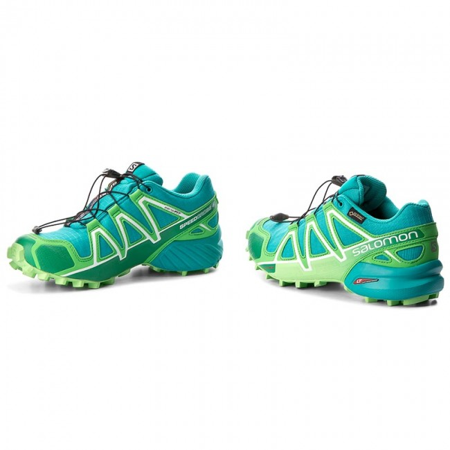 Shoes SALOMON Speedcross 4 Gtx W GORE TEX 383083 20 G0 Teal Blue FPeppermint