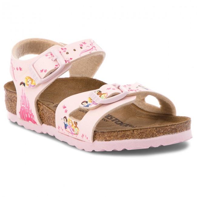 Sandals BIRKENSTOCK Rio Kids 1008670 Disney Princess Rose