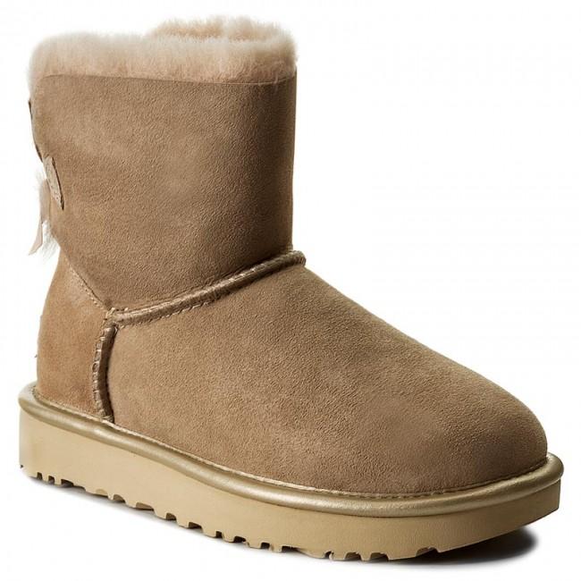 c4265810e3d Shoes UGG - W Mini Bailey Bow II Metallic 1019032 W/Dri