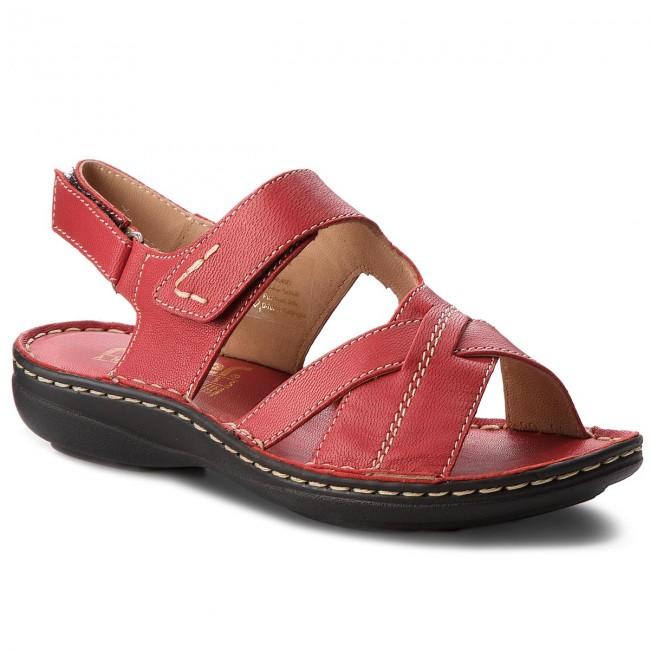 Sandals RIEKER - V9173-33  Rot