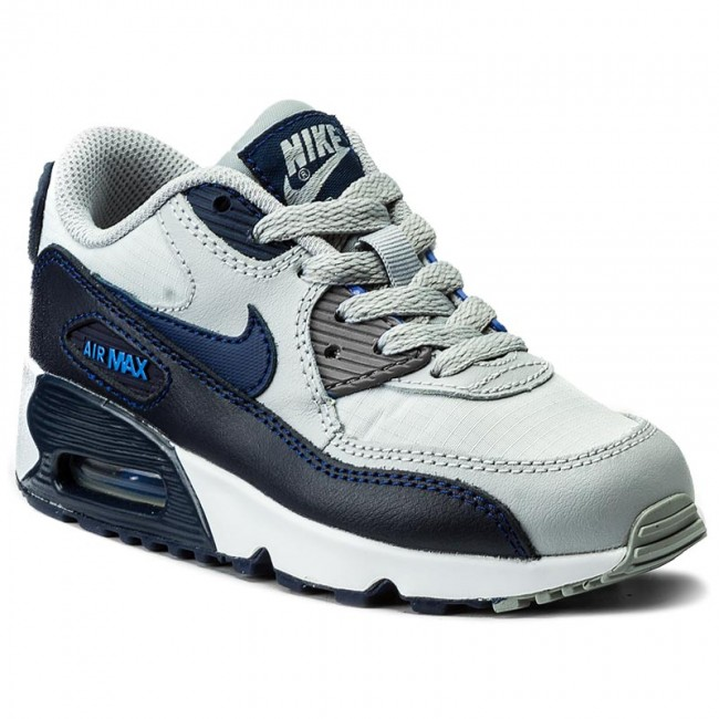 Nike Air Max 90 Mesh PS shoes white grey blue