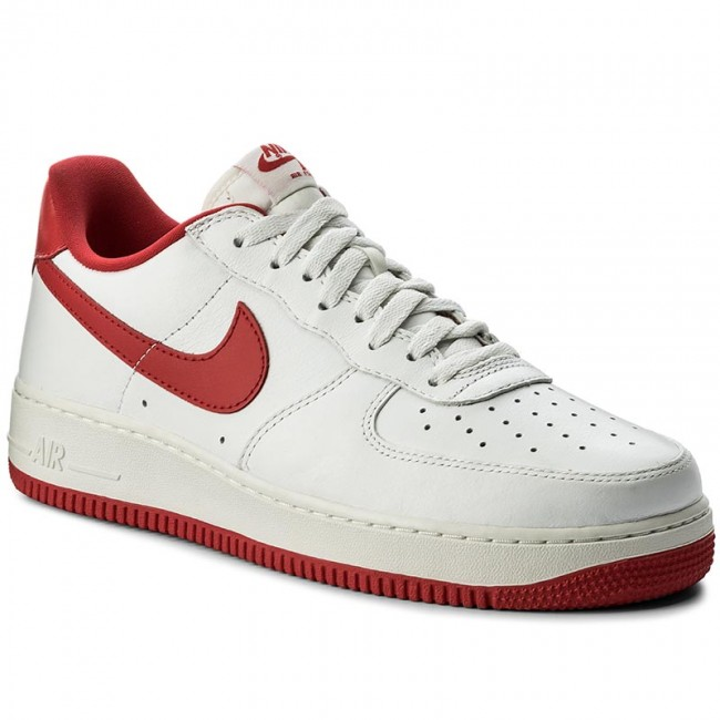 4529dbf9 Shoes NIKE - Air Force 1 Low Retro 845053 100 Summit White/University Red