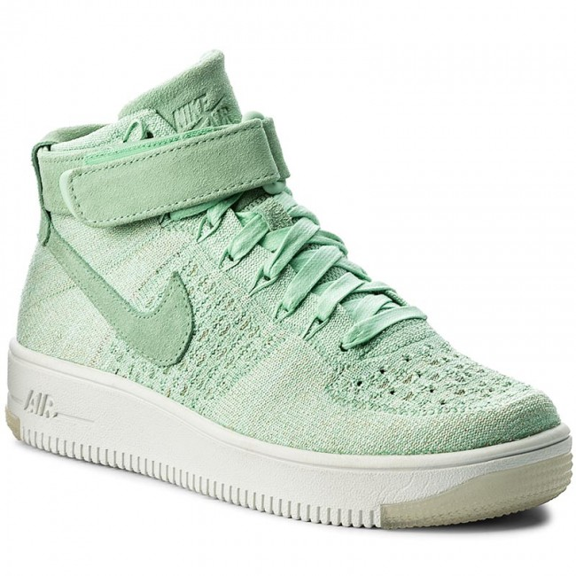 promo code a3598 7e6b3 Shoes NIKE - Af1 Flyknit 818018 301 Enamel Green/Enamel Green