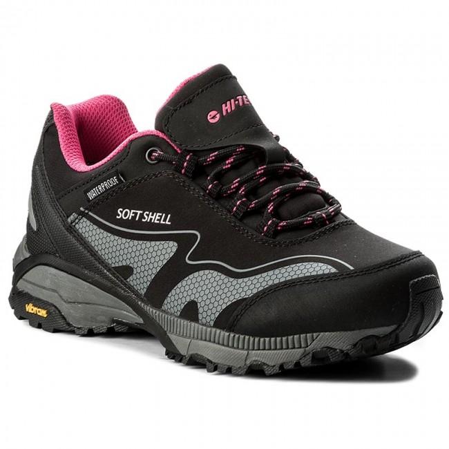 taniej nowy przyjazd dobra jakość Trekker Boots HI-TEC - Kangri Low Wp Wo's AVSAW17-HT-01 Black/Shiny Pink
