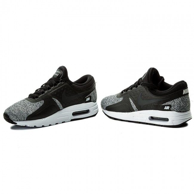 Shoes NIKE Air Max Zero Se (GS) 917864 003 BlackAnthraciteWhiteWhite
