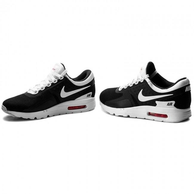 Shoes NIKE Air Max Zero Essential 876070 010 BlackWhiteWhiteSolar Red