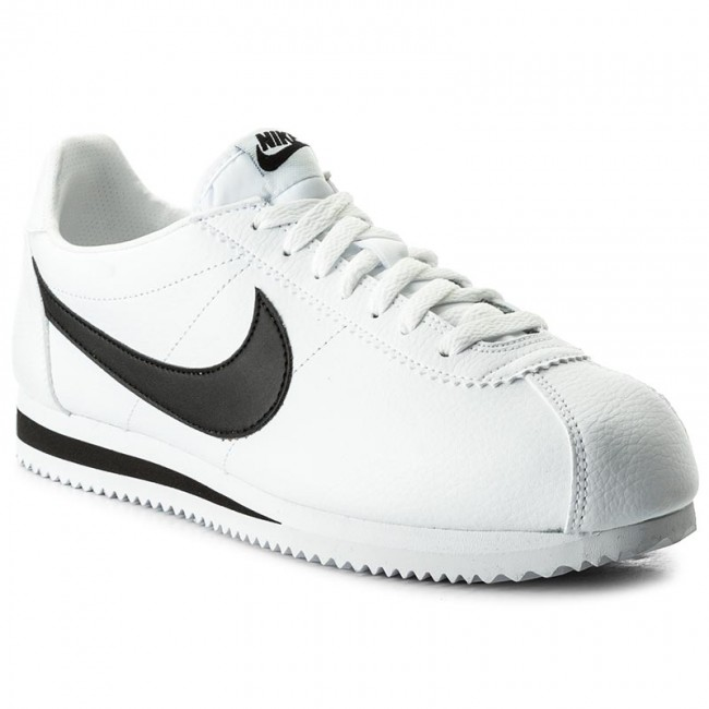 save off 6e46e 9aaa5 Shoes NIKE - Classic Cortez Leather 749571 100 White/Black