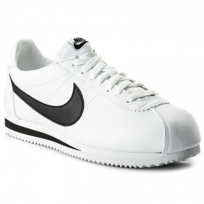 c18a5cec0 Shoes NIKE - Classic Cortez Leather 749571 100 White/Black - Sneakers - Low  shoes - Men's shoes - efootwear.eu