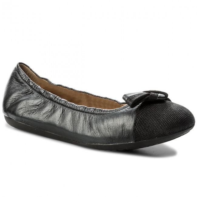 sabio suelo siete y media  Flats GEOX - D Lola 2Fit A D723DA 0BVSK C9999 Black - Ballerina shoes - Low  shoes - Women's shoes | efootwear.eu