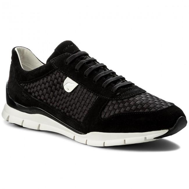 Sneakers GEOX D Sukie A D52F2A 0ZI22 C9999 Black