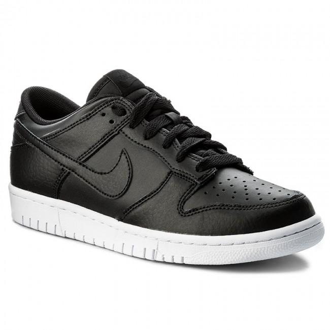 06e8ff469 Shoes NIKE - Dunk Low 904234 003 Black/Black/White - Sneakers - Low ...