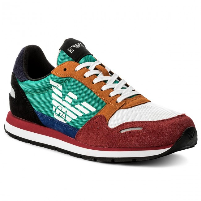 Sneakers Emporio Armani X4x215 Xl200 A005 Scarlet