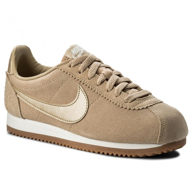 Shoes NIKE Classic Cortez Suede AA3839 200 MushroomMushroomSummit White