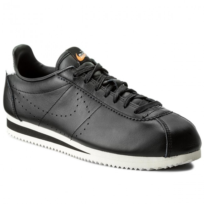uk availability 4f122 7faad Shoes NIKE - Classic Cortez Leather Prem 861677 005 Black Black Lt Orewood  Brn - Sneakers - Low shoes - Men s shoes - efootwear.eu