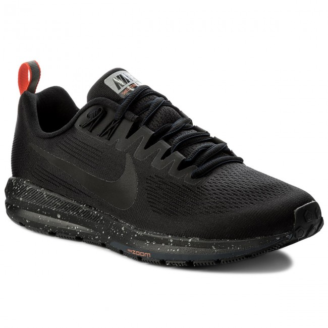 Shoes NIKE Air Zoom Structure 21 Shield 907324 001 BlackBlackBlackObsidian