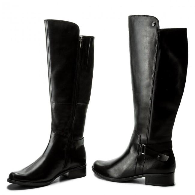 Knee High Boots CAPRICE 9 25523 29 Black Nappa 022