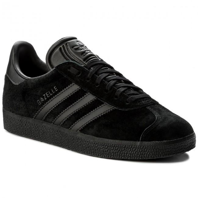 adidas gazelle basse nere leather