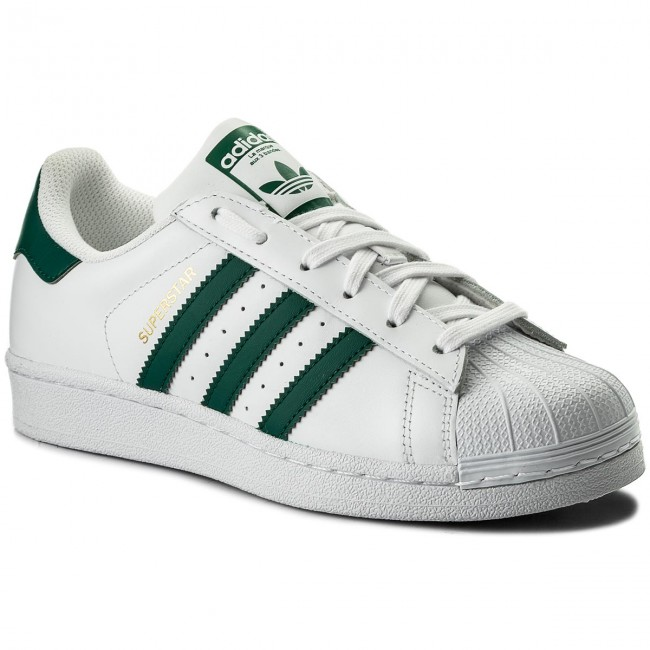 Shoes adidas - Superstar CM8081 Ftwwht/Cgreen/Ftwwht