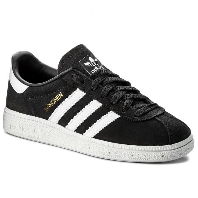 Fraseología Isla de Alcatraz reposo  Shoes adidas - Munchen CQ2322 Carbon/Ftwwht/Goldmt - Sneakers - Low shoes -  Women's shoes | efootwear.eu