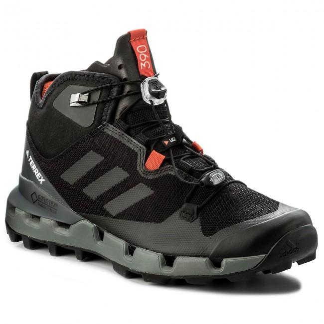 Shoes adidas - Terrex Fast Mid Gtx-Surrou GORE-TEX BB0948  Cblack/Cblack/Visgre