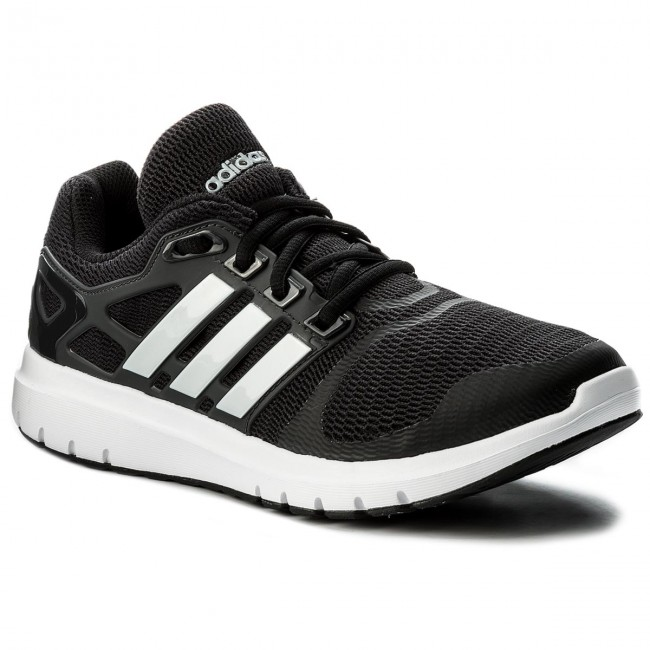 Alegrarse Violín Alinear  Buty adidas - Energy Cloud V CG3963 Cblack/Msilve/Carbon - Indoor - Running  shoes - Sports shoes - Women's shoes | efootwear.eu