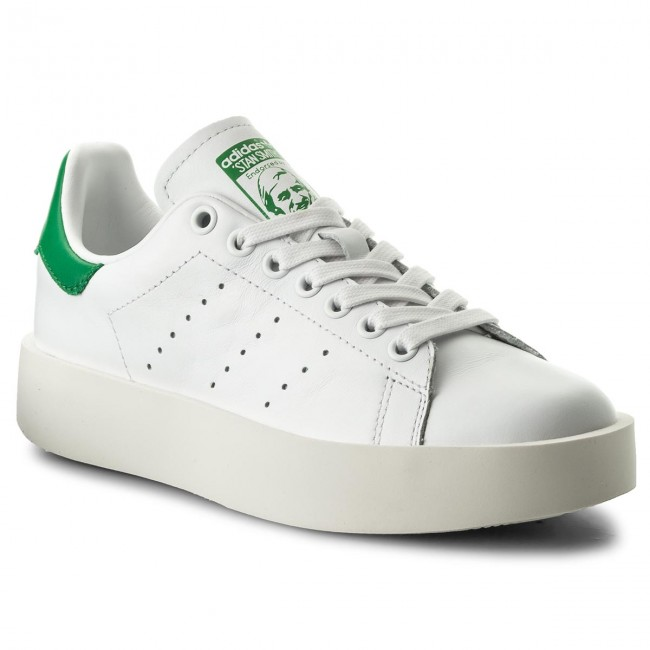nostalgia erección Superposición  Shoes adidas - Stan Smith Bold W S32266 Ftwwht/Ftwwht/Green - Sneakers -  Low shoes - Women's shoes | efootwear.eu