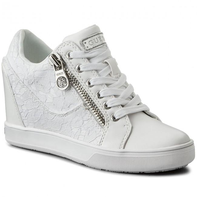White Fierze Sneakers Flfie1 Guess Ele12 nN8m0wv