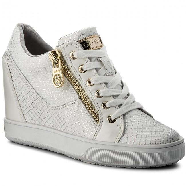 White Fierze Sneakers Flfie1 Guess Pel12 HWEID29
