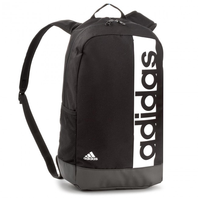 occidental Discriminación sexual Guia  Backpack adidas - Lin Per Bp S99967 Black/Black/White - Sports ...