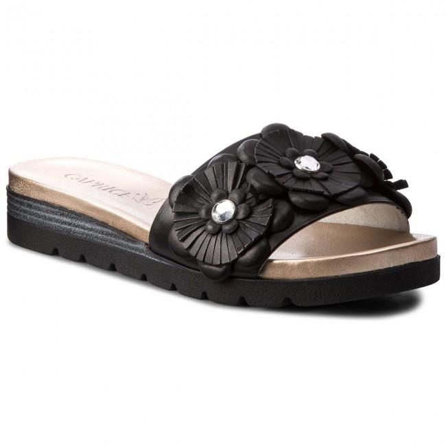 Slides CAPRICE - 9-27106-30 Black Nappa 022