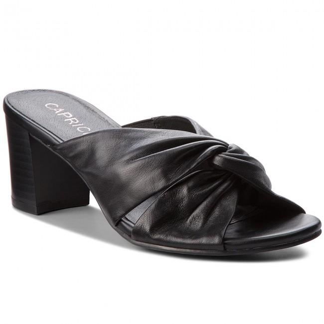 Slides CAPRICE - 9-27212-30 Black Nappa 022