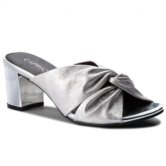 Slides CAPRICE - 9-27212-30 Silver Metal 920