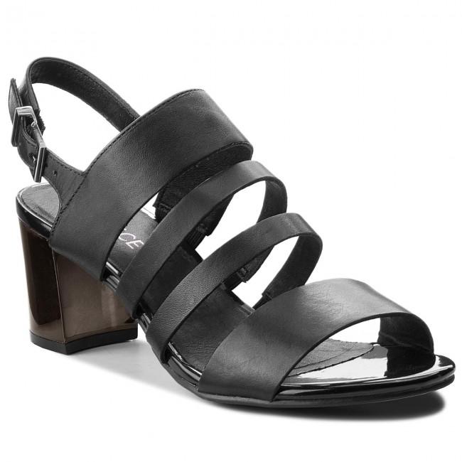 Sandals CAPRICE - 9-28313-30 Black Nappa 022