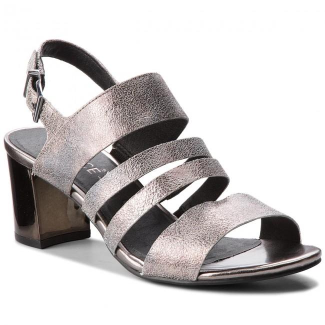 Sandals CAPRICE - 9-28313-30 Silver Sparkle 922