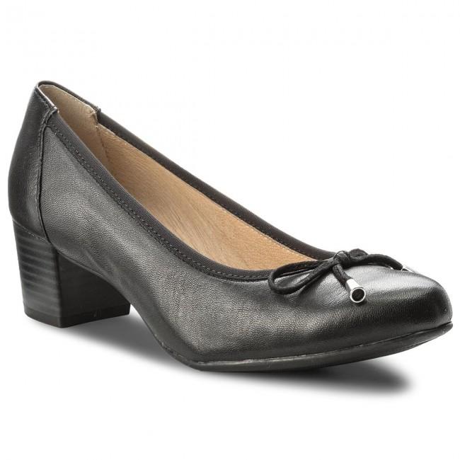 Shoes CAPRICE - 9-22308-20 Black Nappa 022