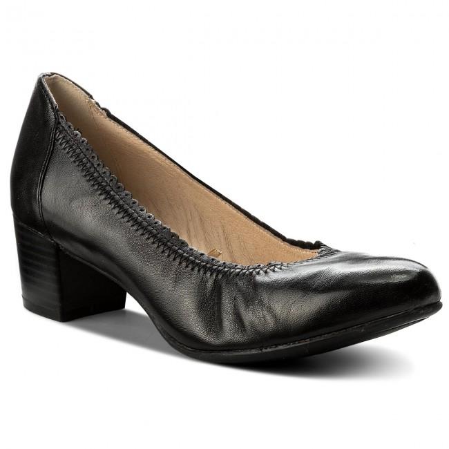 Shoes CAPRICE - 9-22310-20 Black Nappa 022