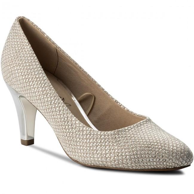 Shoes CAPRICE - 9-22412-20 Lt Grey Struct 206