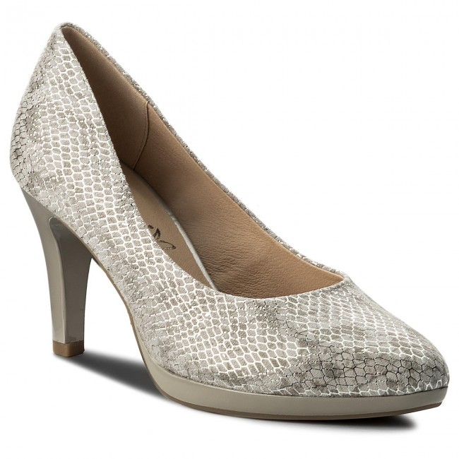 Shoes CAPRICE - 9-22414-20 Grey Snake Mul 247