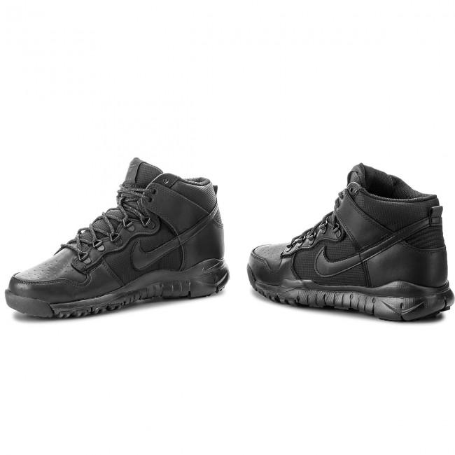 new product c523a eb186 Shoes NIKE - Sb Dunk High Boot 536182 001 Black/Black