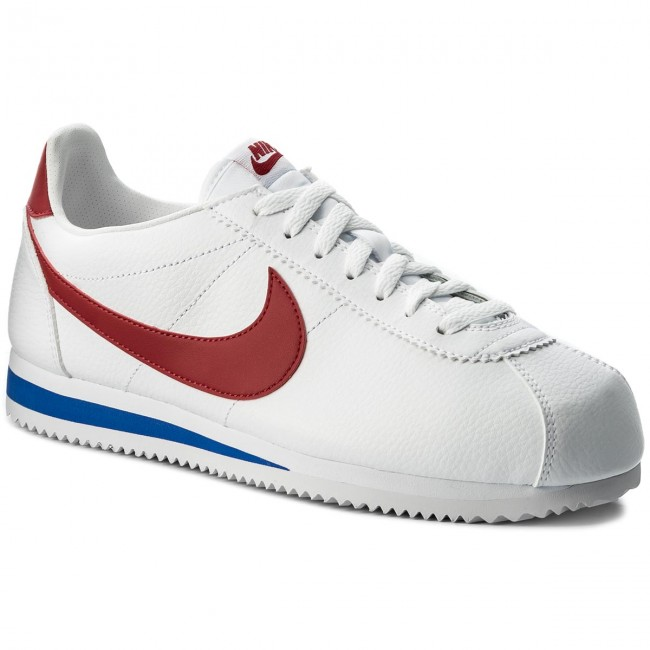 154 Cortez Red Classic Leather Nike Whitevaristy Shoes 749571 ZuPkXi