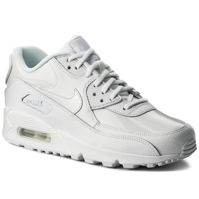 Shoes NIKE - Air Max 90 Lea 921304 101 White/White/White