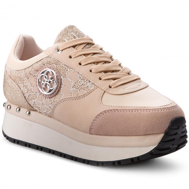 competitive price f14ed 6209a Sneakers GUESS - Tiffany FLTIF1 LAC12 NUDE