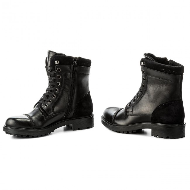 timeless design cd3b2 60fb0 Hiking Boots STRELLSON - Benchill George Boot 4010002318 Black 900