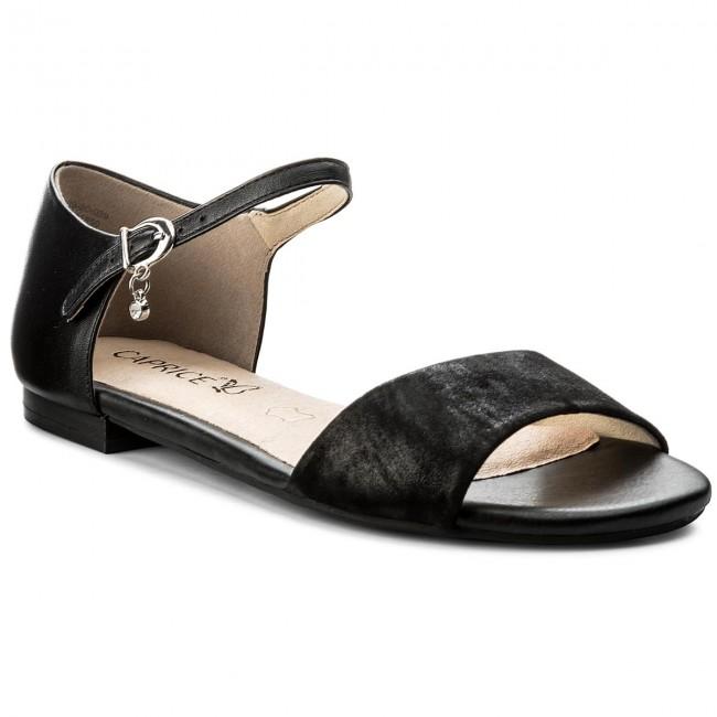 Sandals CAPRICE - 9-28109-20 Blk Pearl Comb 029